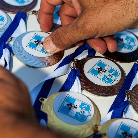 Μετάλλια Αγώνα | Racesystem.gr